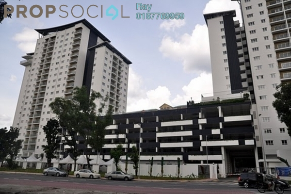 For Rent Apartment at Suria Jelatek Residence, Ampang Hilir Leasehold Fully Furnished 3R/2B 2.5k