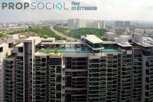For Rent Condominium at The Leafz, Sungai Besi Freehold Fully Furnished 3R/2B 2.5k
