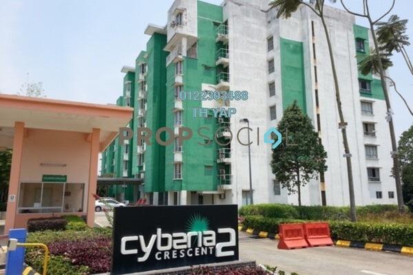 For Sale Condominium at Cyberia Crescent 2, Cyberjaya Freehold Semi Furnished 3R/2B 295k