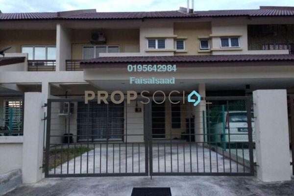 For Sale Terrace at Bandar Puncak Alam, Kuala Selangor Leasehold Semi Furnished 4R/3B 430k