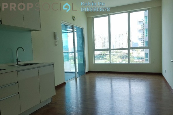 For Rent Serviced Residence at The Loft @ ZetaPark, Setapak Leasehold Semi Furnished 1R/1B 1.5k