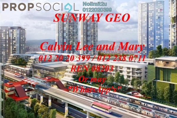 For Sale Condominium at Sunway GEO Residences, Bandar Sunway Leasehold Unfurnished 2R/2B 800k