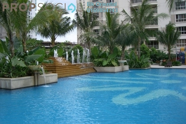 For Rent Condominium at Kiaramas Cendana, Mont Kiara Freehold Fully Furnished 1R/1B 7k