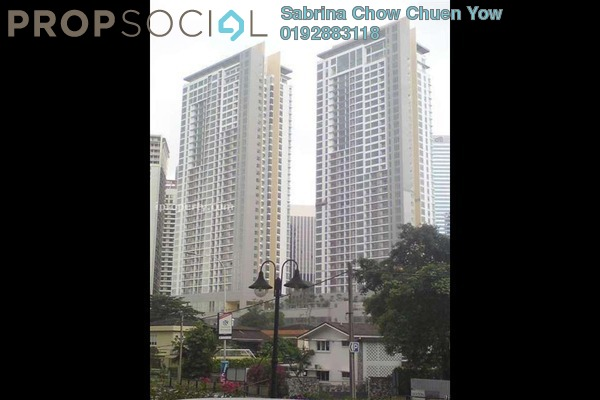 For Sale Condominium at 2 Hampshire, KLCC Freehold Semi Furnished 0R/7B 3.5m