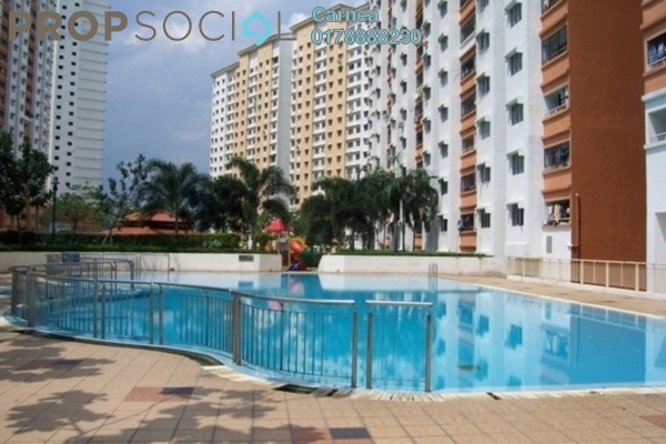 For Sale Condominium at Flora Damansara, Damansara Perdana Leasehold Semi Furnished 3R/2B 210k