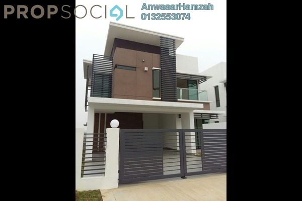 For Sale Semi-Detached at Zircona, Alam Impian Freehold Unfurnished 6R/6B 1.65m