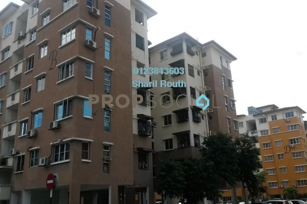 For Sale Apartment at Tainia Apartment, Kota Damansara Leasehold Semi Furnished 3R/3B 380k