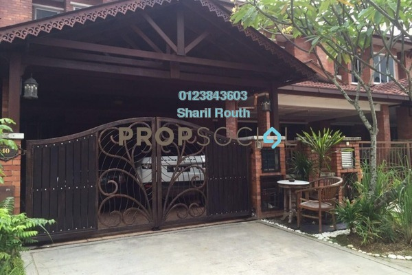 For Sale Terrace at Alam Budiman, Shah Alam Leasehold Semi Furnished 5R/3B 670k