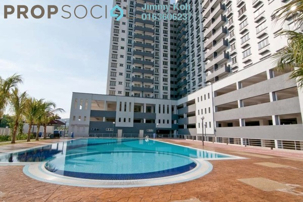 For Rent Condominium at Kinrara Mas, Bukit Jalil Freehold Semi Furnished 3R/2B 1.1k