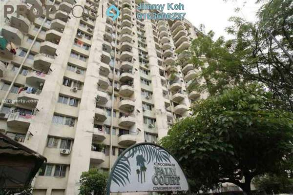 For Rent Condominium at Palm Court, Brickfields Freehold Fully Furnished 3R/2B 2.75k