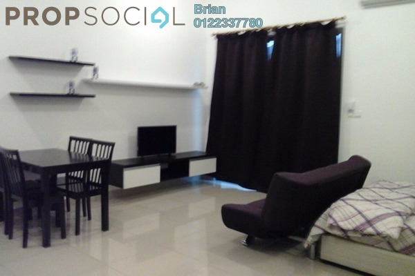 For Rent SoHo/Studio at CyberSquare, Cyberjaya Freehold Fully Furnished 1R/1B 1.2k