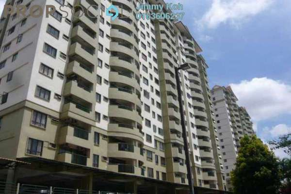 For Rent Condominium at Anjung Hijau, Bukit Jalil Freehold Fully Furnished 2R/2B 1.3k