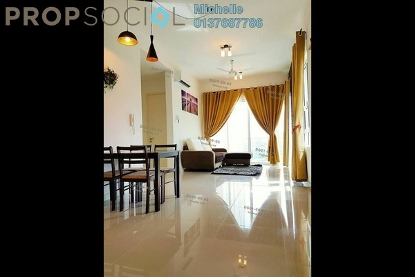 For Rent Serviced Residence at Desa Green Serviced Apartment, Taman Desa Freehold Semi Furnished 3R/2B 2.3k