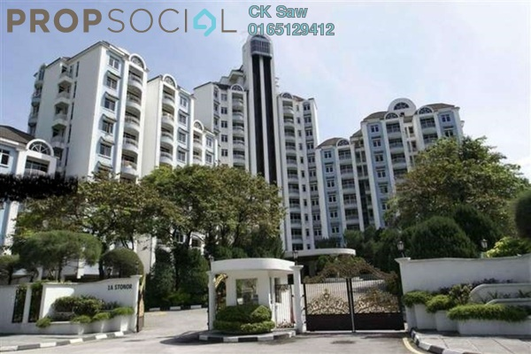 For Rent Condominium at 1A Stonor, KLCC Leasehold Semi Furnished 2R/2B 2.5k