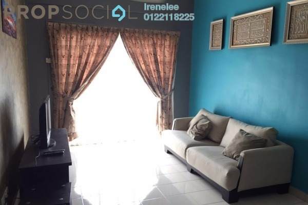 For Rent Condominium at Juta Mines, Seri Kembangan Leasehold Fully Furnished 3R/2B 1.2k
