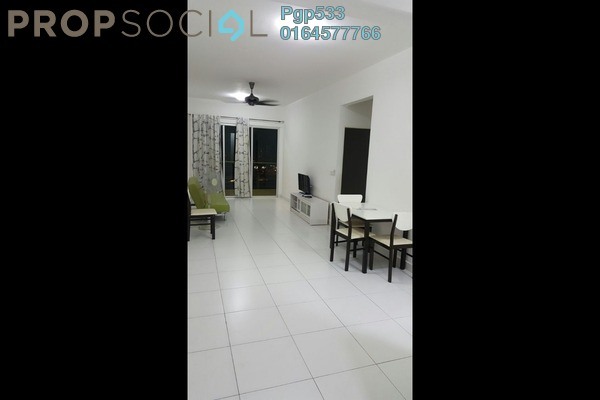For Rent Condominium at Elit Heights, Bayan Baru Freehold Fully Furnished 2R/2B 1.6k