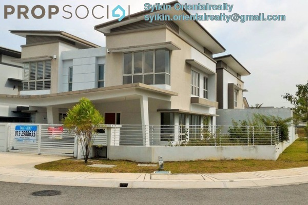 For Sale Semi-Detached at Puncak Perdana, Shah Alam Leasehold Unfurnished 5R/3B 1.05m