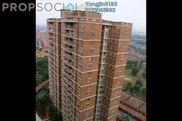 For Rent Condominium at Greenview Residence, Bandar Sungai Long Freehold Semi Furnished 3R/2B 1.4k