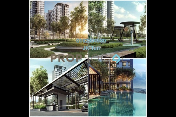 For Sale Condominium at The Greens @ Subang West, Shah Alam Freehold Semi Furnished 3R/2B 632k