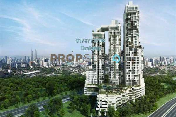 For Rent Condominium at Icon Residence, Dutamas Freehold Fully Furnished 1R/1B 3.5k