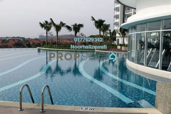 For Sale Condominium at Dwiputra Residences, Putrajaya Freehold Unfurnished 3R/3B 660k