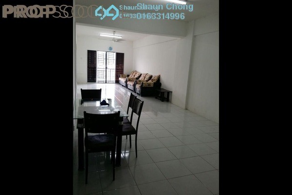 For Sale Condominium at Suria Court, Bandar Mahkota Cheras Freehold Semi Furnished 3R/2B 380k