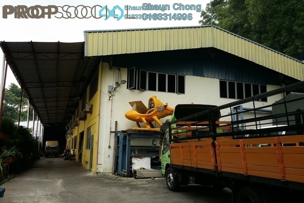 For Sale Factory at Taman Ehsan Industrial Park, Kepong Leasehold Semi Furnished 14R/8B 19m