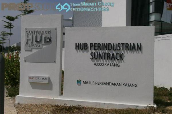For Rent Factory at Suntrack Hub, Bangi Freehold Unfurnished 2R/5B 11k