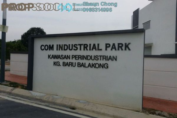 For Sale Factory at Com Industrial Park, Bandar Tun Hussein Onn Freehold Unfurnished 3R/4B 3.33m