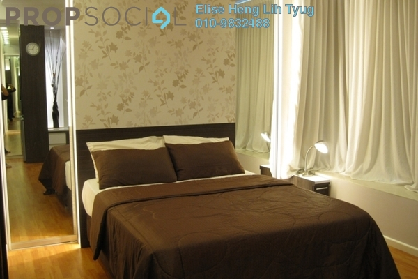 For Rent SoHo/Studio at Park View, KLCC Freehold Fully Furnished 1R/1B 3k