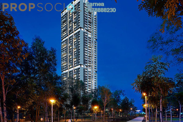For Rent Condominium at One Central Park, Desa ParkCity Freehold Semi Furnished 3R/4B 5k