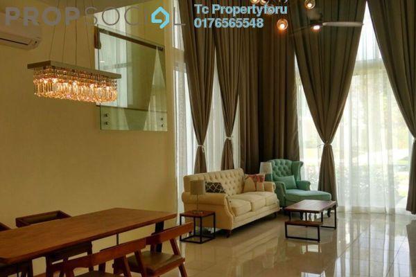 For Rent Superlink at Symphony Hills, Cyberjaya Freehold Semi Furnished 4R/5B 3.5k