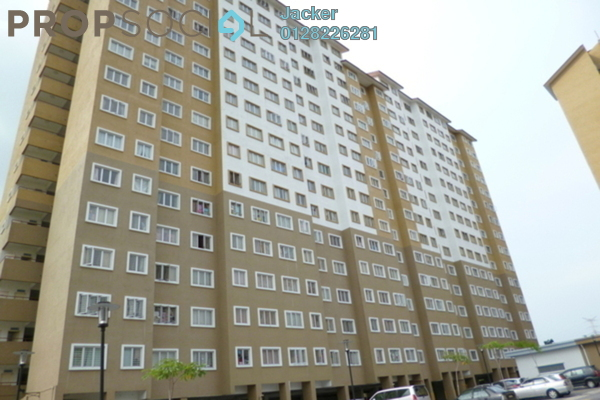 For Sale Apartment at Putra Suria Residence, Bandar Sri Permaisuri Leasehold Semi Furnished 3R/2B 315k