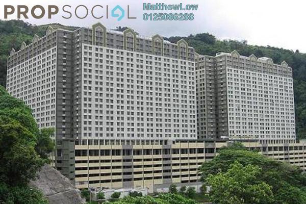 For Rent Apartment at Green Garden, Paya Terubong Freehold Unfurnished 2R/1B 500translationmissing:en.pricing.unit