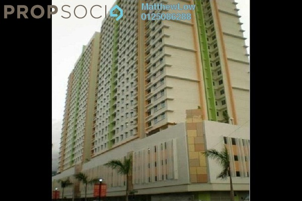 For Sale Apartment at Harmony View, Jelutong Freehold Semi Furnished 3R/1B 375k