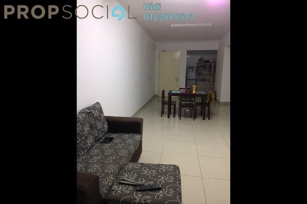 For Rent Serviced Residence at De Centrum, Kajang Freehold Fully Furnished 3R/2B 2.1k