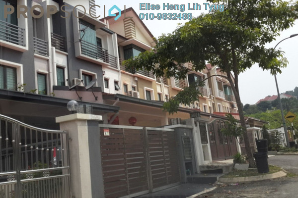 For Rent Terrace at Taman Impian Ehsan, Balakong Leasehold Unfurnished 4R/3B 1.5k