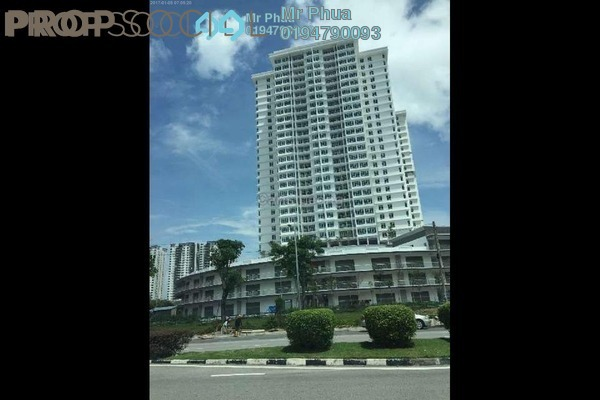 For Rent Condominium at Arena Residence, Bayan Baru Freehold Semi Furnished 3R/2B 1.8k