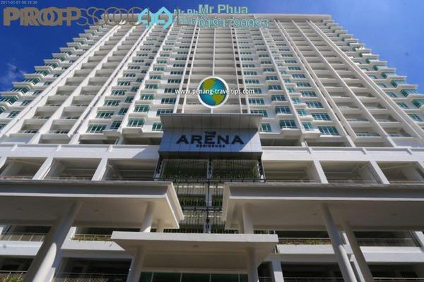 For Rent Condominium at Arena Residence, Bayan Baru Freehold Unfurnished 4R/2B 1.4k
