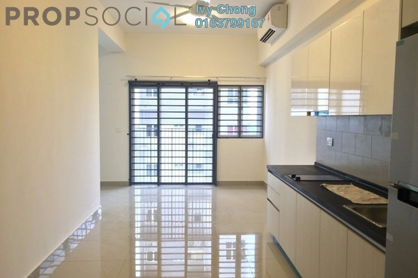 For Rent Serviced Residence at The Wharf, Puchong Leasehold Semi Furnished 1R/1B 1k