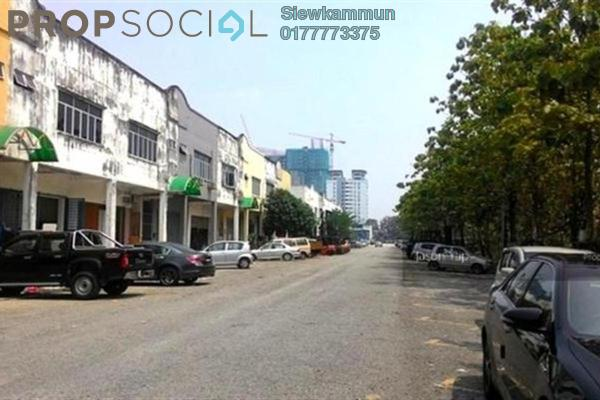 For Rent Shop at Taman Mastiara, Jalan Ipoh Leasehold Unfurnished 1R/2B 3.2k