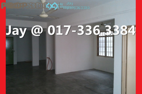For Rent Apartment at Taman Pusat Kepong, Kepong Leasehold Semi Furnished 1R/2B 850translationmissing:en.pricing.unit