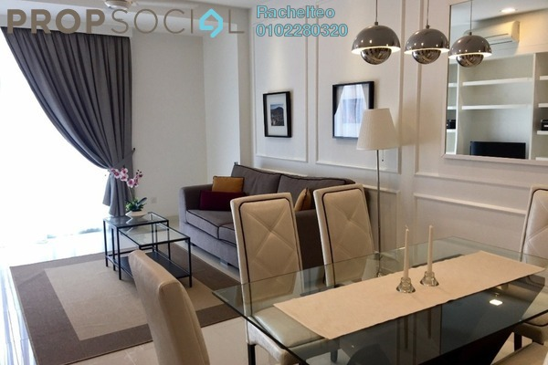 For Rent Condominium at Camellia, Bangsar South Leasehold Fully Furnished 1R/1B 3.5k