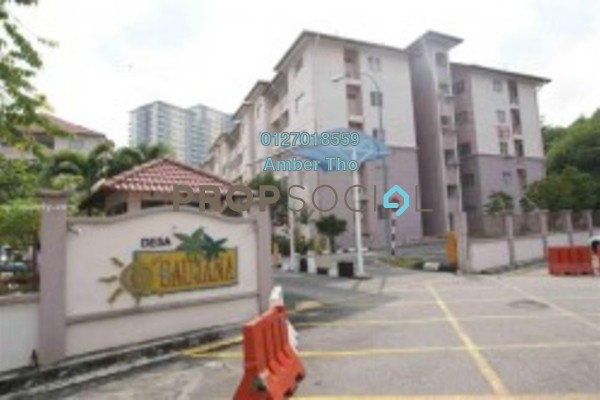 For Sale Condominium at Desa Saujana, Seri Kembangan Freehold Semi Furnished 3R/2B 269k
