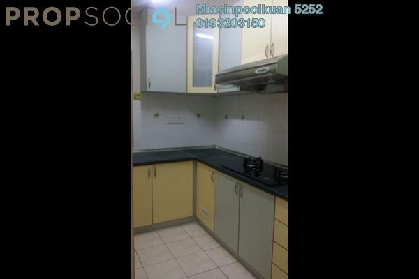 For Rent Condominium at Prima Setapak I, Setapak Leasehold Fully Furnished 3R/2B 1.5k