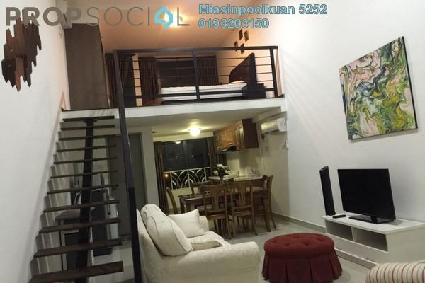 For Rent Condominium at Subang SoHo, Subang Jaya Freehold Fully Furnished 0R/1B 2.8k