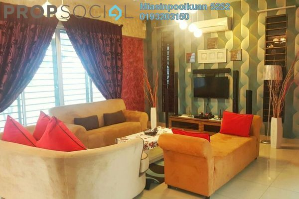 For Rent Semi-Detached at Setia Impian, Kajang Freehold Fully Furnished 5R/4B 2.5k