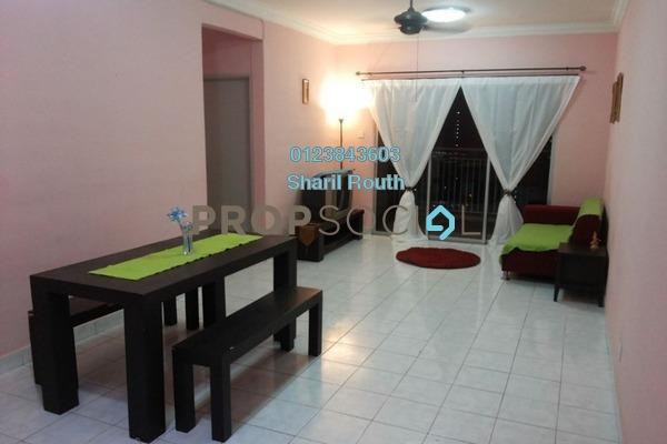For Sale Condominium at Vista Amani, Bandar Sri Permaisuri Leasehold Semi Furnished 4R/2B 480k