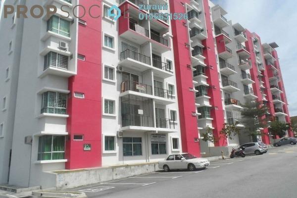 For Sale Apartment at Anggerik Apartment, Nilai Freehold Unfurnished 3R/2B 275k