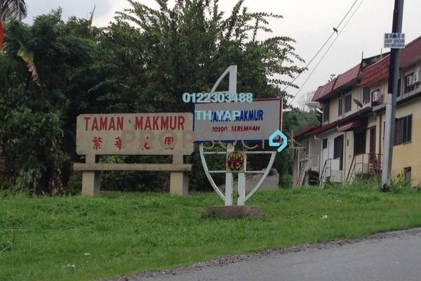 For Sale Terrace at Taman Makmur, Seremban Freehold Unfurnished 3R/2B 255k